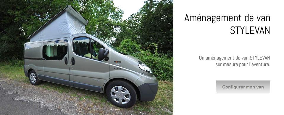 amenagement de camping van sur mesure stylevan 03 86 42 21 90. Black Bedroom Furniture Sets. Home Design Ideas
